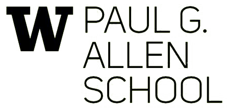 The Allen School CS logo, which is a larger UW W with Paul G. Allen School of Computer Science and Engineering text.